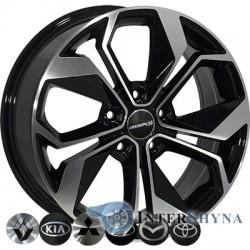Zorat Wheels BK5168 6.5x16 5x114.3 ET40 DIA67.1 BP