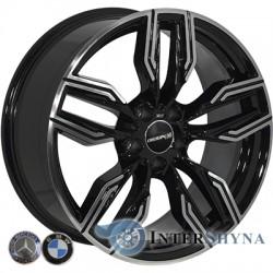 Zorat Wheels BK5181 9.5x19 5x112 ET39 DIA66.6 BP