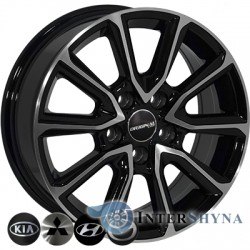 Zorat Wheels BK5344 6.5x16 5x114.3 ET35 DIA67.1 BP