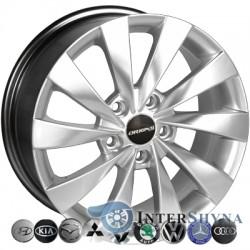 Zorat Wheels BK438 6.5x15 5x114.3 ET40 DIA67.1 HS