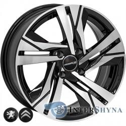 Zorat Wheels BK5543 7x16 4x108 ET25 DIA65.1 BP