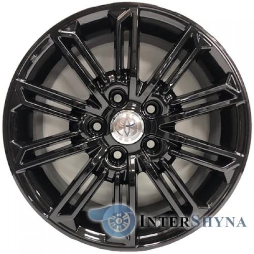 Replica Toyota CT2338 6.5x16 5x114.3 ET45 DIA60.1 Black