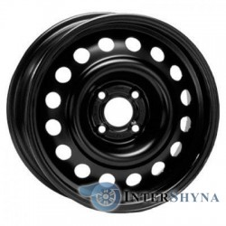 Steel Trebl 64A45R 6x15 4x100 ET45 DIA54.1 Black