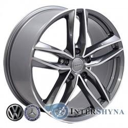 Zorat Wheels BK690 7.5x17 5x112 ET28 DIA66.6 GP
