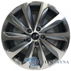 Replica Hyundai HY124 7.5x18 5x114.3 ET48 DIA67.1 GMF