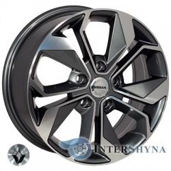 Zorat Wheels BK5168 7x17 5x114.3 ET40 DIA66.1 GP